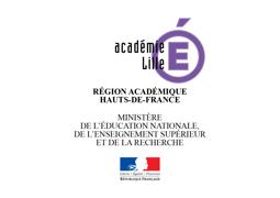 Région académique des Hauts de France